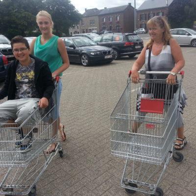 Shoppen met de kids