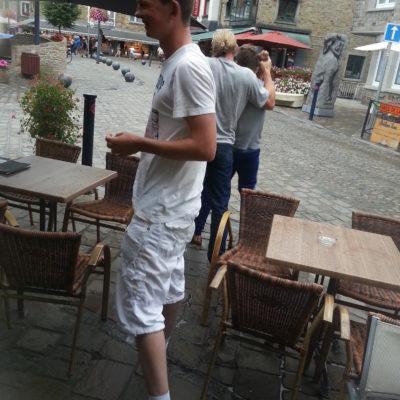 Stoeien in La Roche