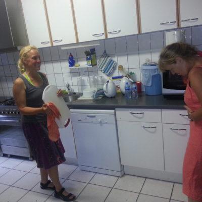 De keukenploeg