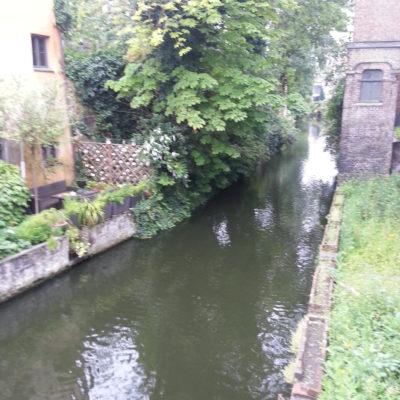 De klokjesmuur in Brugge