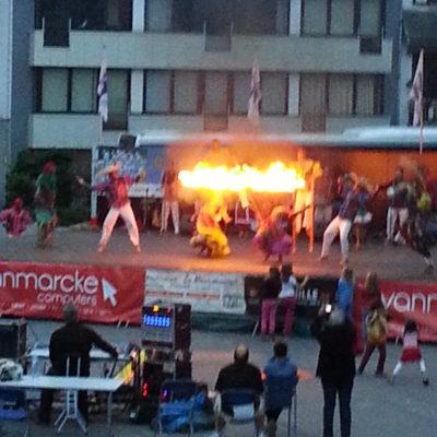 Toffe voorstellingen op het grote plein